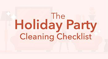 The Holiday Party Cleaning Checklist