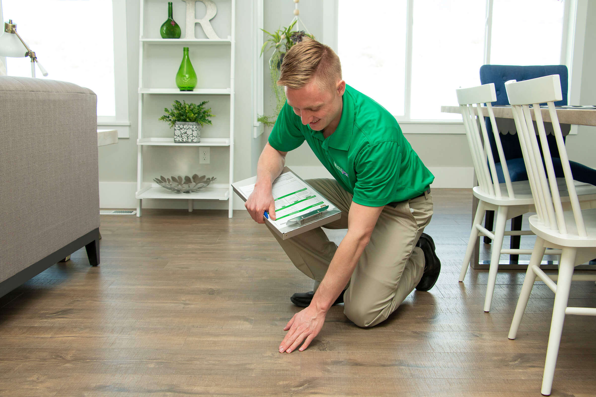 Wood Floor Cleaning in Forsyth County